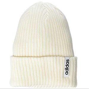 🆕 adidas Hawthorne Fold Beanie Cloud White